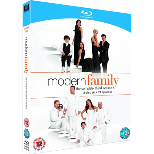 En Moderne Familie - Sesong 3 (UK-import) (BLU-RAY)