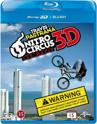 Nitro Circus - The Movie (Blu-ray 3D + Blu-ray)
