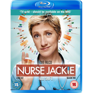Nurse Jackie - Sesong 2 (UK-import) (BLU-RAY)