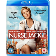 Nurse Jackie - Sesong 3 (UK-import) (BLU-RAY)