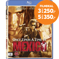 Produktbilde for Once Upon A Time In Mexico (DK-import) (BLU-RAY)