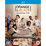 Orange Is The New Black - Sesong 1-4 (UK-import) (BLU-RAY)