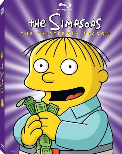 The Simpsons - Sesong 13 (BLU-RAY)
