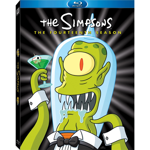 The Simpsons - Sesong 14 (BLU-RAY)