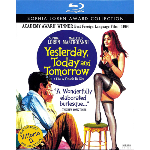 Yesterday Today Tomorrow (BLU-RAY)