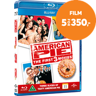 Produktbilde for American Pie - The First 3 Movies (DK-import) (BLU-RAY)