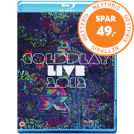 Produktbilde for Coldplay - Live 2012 (Blu-ray + CD)