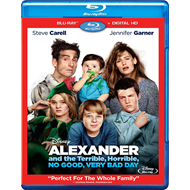 Alexander And The Terrible, Horrible, No Good, Very Bad Day (BLU-RAY)