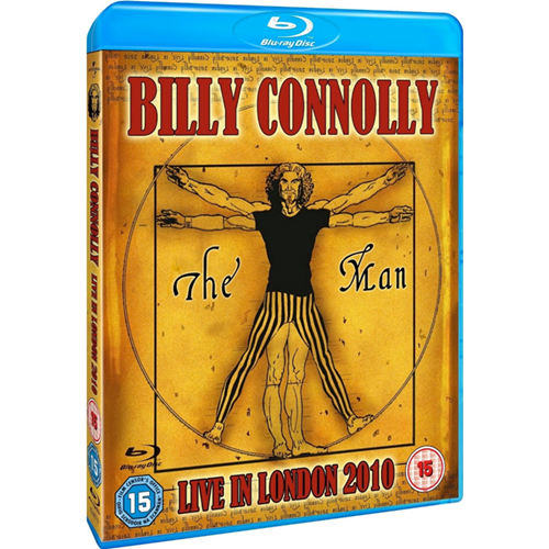 Billy Connolly - Live In London 2010 (UK-import) (BLU-RAY)