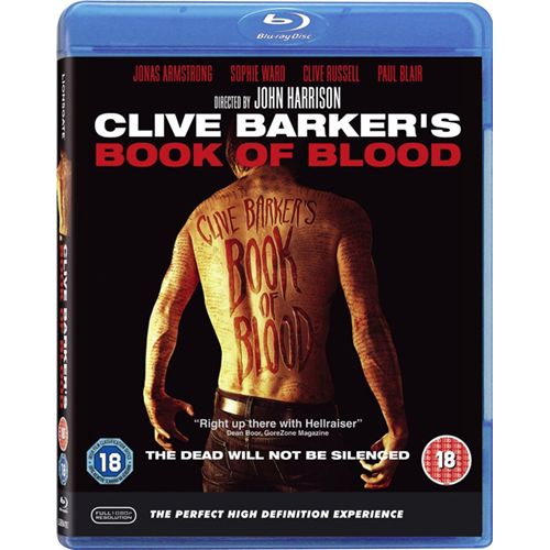 Clive Barker's Book Of Blood (UK-import) (BLU-RAY)
