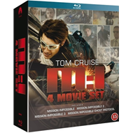 Mission: Impossible 1 - 4 Collection (BLU-RAY)