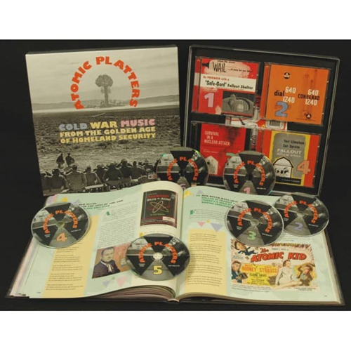 Atomic Platters: Cold War Music From The Golden Age (5CD+DVD)