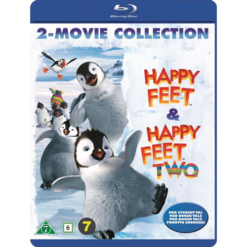 Happy Feet 1 & 2 (BLU-RAY)
