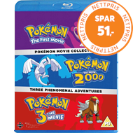Produktbilde for Pokémon Movie Collection (UK-import) (BLU-RAY)