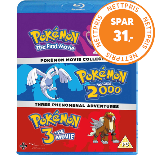 Pokémon Movie Collection (UK-import) (BLU-RAY)