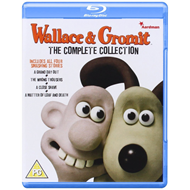 Wallace & Gromit - The Complete Collection (UK-import) (BLU-RAY)