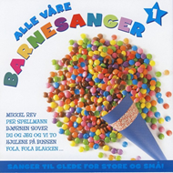 Produktbilde for Alle Våre Barnesanger 1 (CD)
