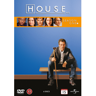 House M.D. - Sesong 1 (DVD)