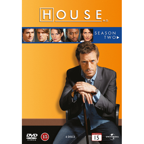 House M.D. - Sesong 2 (DVD)