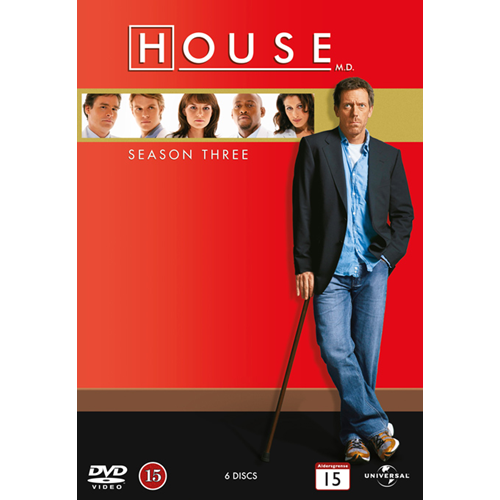 House M.D. - Sesong 3 (DVD)