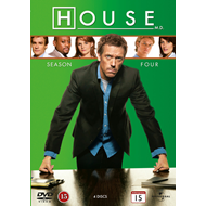 House M.D. - Sesong 4 (DVD)