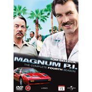 Magnum P.I. - Sesong 4 (DVD)