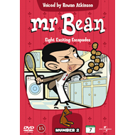 Mr. Bean Animert - Number 2 (DVD)