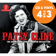 Produktbilde for Absolutely Essential - Patsy Cline (3CD)