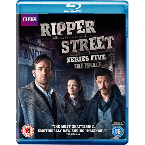 Ripper Street - Sesong 5 (UK-import) (BLU-RAY)