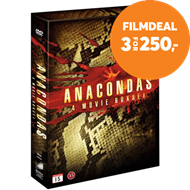 Produktbilde for Anaconda 1-4 (DVD)