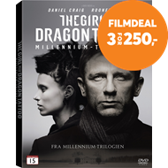 Produktbilde for The Girl With The Dragon Tattoo (DVD)