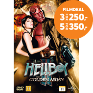 Produktbilde for Hellboy 2 - The Golden Army (DVD)