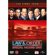 Law & Order: Special Victims Unit - Sesong 1 (DVD)