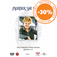 Murder, She Wrote - Sesong 3 (DVD)
