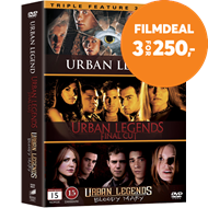 Produktbilde for Urban Legend Samleboks (DVD)