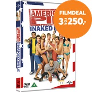 Produktbilde for American Pie Presents: The Naked Mile (DK-import) (DVD)