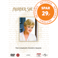 Produktbilde for Murder, She Wrote - Sesong 4 (DVD)