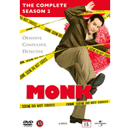 Monk - Sesong 2 (DVD)