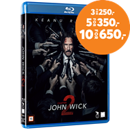 Produktbilde for John Wick: Chapter 2 (DK-import) (BLU-RAY)