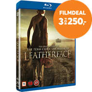 Produktbilde for Leatherface (BLU-RAY)