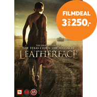 Produktbilde for Leatherface (DVD)