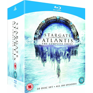 Produktbilde for Stargate Atlantis - The Complete Series (UK-import) (BLU-RAY)