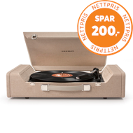 Crosley - Nomad Turntable - Brown (PLATESPILLER)