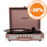 Produktbilde for Crosley Cruiser Deluxe - Purple Ash (PLATESPILLER)