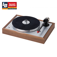Pro-Ject The Classic SB Superpack m/Ortofon Quintet Red – Walnut (PLATESPILLER)