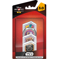 Disney Infinity 3.0: Power Disc 4 Pack - Twilight Of The Republic