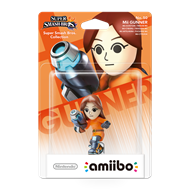 Amiibo Super Smash Bros. Mii Gunner