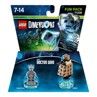 Lego Dimensions Fun Pack: Cyberman (Dr Who)