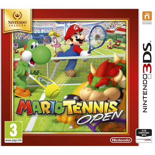 Mario Tennis Open 3D - Nintendo Selects