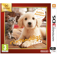 Nintendogs + Cats: Golden Retriever & new Friends - Nintendo Selects